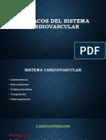 FáRmacos Del Sistema Cardiovascular