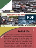 Accidentes de Transito - Mondragon