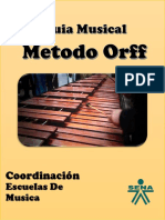 Cartilla Orff