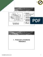 Clase 6 - Potencial Hidráulico, Redes de Flujo y Superficie Piezométrica -imprimir.pdf