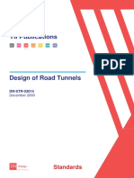 Design road tunnels