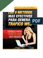 Los 9 Métodos Más Efectivos Para Generar_tráfico Web
