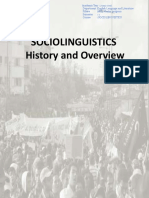 03- Sociolinguistics History