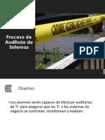 S01 - Proceso de Auditoria de Sistemas I