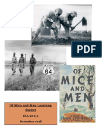 of mice and men chapter 1 learning packet
