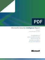 Microsoft Security Intelligence Report Volume 9 Jan-June2010 English