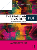 The Translator's Invisibility 2018 Introduction