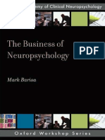 The Business of Neuropsychology