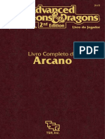 AD&D 2E - Livro Completo Do Arcano