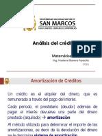 Matemática Financiera - Análisis Del Crédito