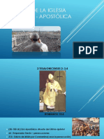Historia de La Iglesia Católica - Apostólica Romana