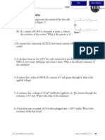 5 - Ohm's Law Worksheet