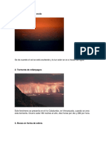 5 fenomenos naturales