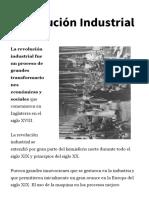 La Revolución Industrial - Resumen Primera y Segunda Etapa