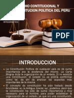 Derecho Contitucional y Constitucion Politica Del Peru