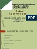 ESTUDIOS EPÍDEMIOLOGICOS_DR. PEDRO CAMACHO