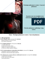 4. Patologia Pulmonara Cronica. Cancerul Pulmonar