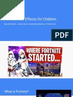 fortnite presentation