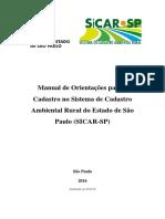 Manual SiCAR - SP