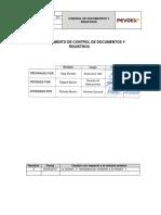 Pg-sig-001 - Rev2-Proc Control de Docs