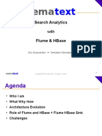 Search Analytics with Flume and HBase