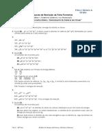 Resolução Ficha Formativa Orbiais Configurações