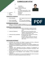 Curriculum Vitae Juan Deive Ventura Laura