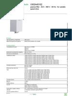 Altivar Process_VW3A46162 Filtro Pasivo