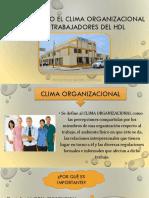 Clima Organizacional en Los Trabajadores