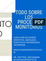 Todo Sobre Los Procesos Monitorios (Art. 419 Del CGP) – de Hechos y de Derechos
