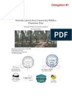 Williams Lake and Area Community Wildfire Protection Plan