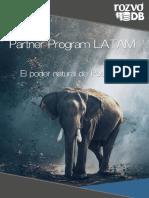 Programa de distribuidores RozvoDB PostgreSQL