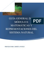 Matematicas y Representaciones del Sistema Natural 08