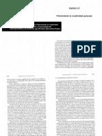 Csikszentmihalyi, M. (1998). Capítulo 14. Potenciando la creatividad personal. En Creatividad. El fluir y la psicología del descubrimiento y la invención. Barcelona= Paidós