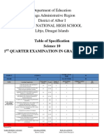 Tos Science 8 3rd Quarter