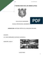 Texto Historia Critica de La Realidad Peruana Utea 2018 II