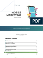 Mobile Marketing Solution Study