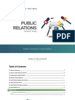 Public Relations Solution Study