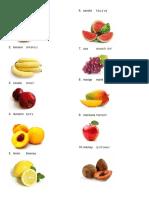 Frutas en Quiche