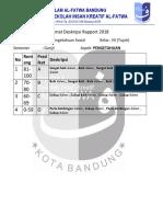 Format Deskripsi IPS Kelas 7