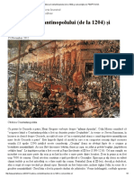 Căderea Constantinopolului (de La 1204) Şi Consecinţele Ei _ PEMPTOUSIA