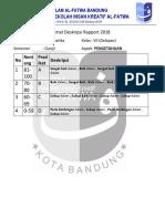 Format Deskripsi MTK Kelas 8