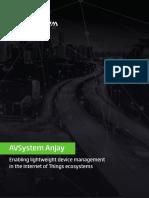 AVSystem Anjay Brochure