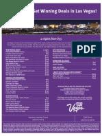Supreme Clientele Travel_Vegas 2 Nights Specials