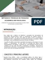 Apresentação Final - Pesquisa Academica20171110 (1)