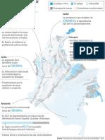 Mapa ecosistemas degradados
