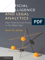 Kevin D. Ashley - Artificial Intelligence and Legal Analytics