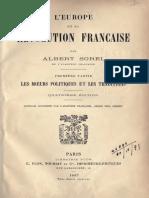 Sorel Albert - L'Europe et la révolution française 1 Les mœurs politiques et les traditions.pdf