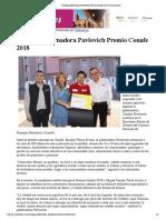 12-11-18 - CANAL SONORA - Entrega Gobernadora Pavlovich Premio Conafe 2018 _ Canal Sonora