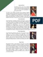 Presidentes Del Ecuador Con Descripciones